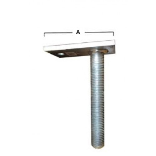 PP1  Beam Support Welded TR30 x 200mm